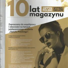 10 lat Optyka Polskiego